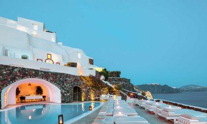 Best Luxury Hotels Santorini Greece