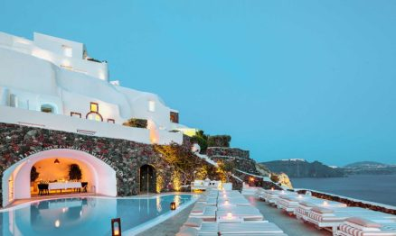 Best Luxury Hotels Santorini Greece