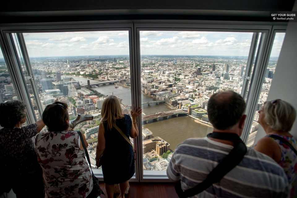Fun places to Visit in London…(The view from the Shard)