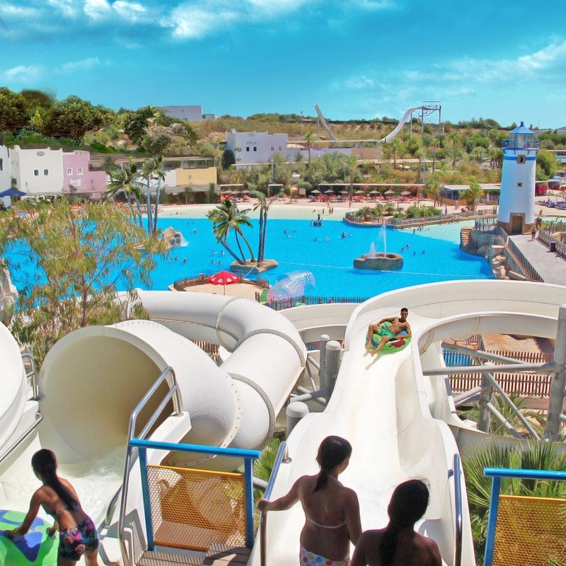 Aqua Natura, Benidorm, Spain. (Family WaterPark)