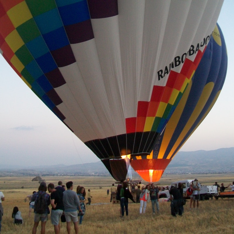 Enjoy Hot Air Balloon Flight in Cappadocia, Turkey.